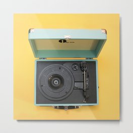 Lionel's Record Player Metal Print
