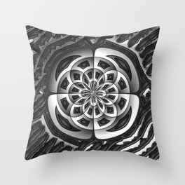 Metal object Throw Pillow