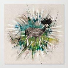 Greenspace Canvas Print