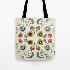 Flora Pattern I Light Tote Bag