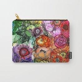 Razzle D Floral Carry-All Pouch