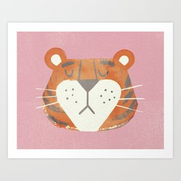 Tiger Thursday Art Print
