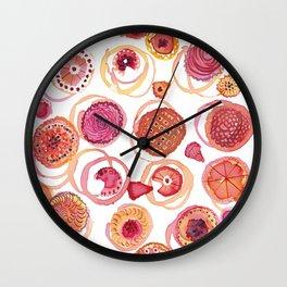 Pies & Tarts Wall Clock