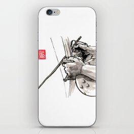 """Capoeira 482 """"Berimbau"""" iPhone Skin"""