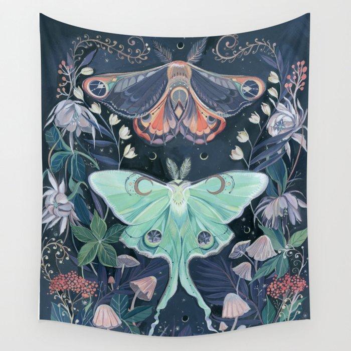 Luna Moth Wandbehang