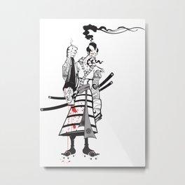 Head collector Metal Print