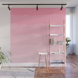 Light Pink Cloud Layers Wall Mural