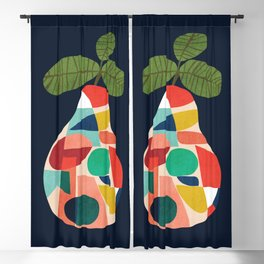Fresh Pear Blackout Curtain