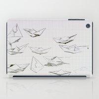 boats iPad Cases featuring Boats by Marianna Shomero