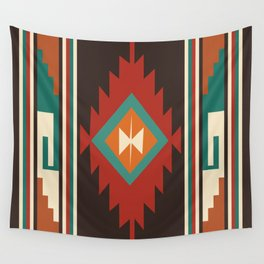 American Native Pattern No. 32 Wall Tapestry