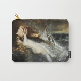 The Kiss of the Siren by Gustav Wertheimer, 1882 Carry-All Pouch