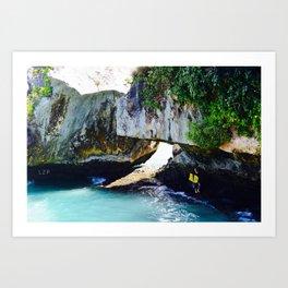 Bali Bodyboarder Uluwatu Art Print