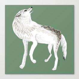 Totem Alaska tundra wolf Canvas Print