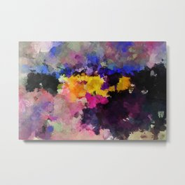 Contemporary Abstract Art Metal Print