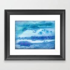 Nothing but Blue Skies Framed Art Print
