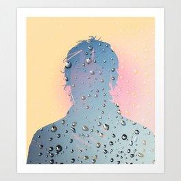 J Spaceman Portrait 01 Art Print
