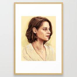 Kristen Stewart as Vonnie Framed Art Print