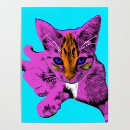 Loli Arlene Blue Poster