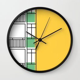 Edificio Royal Castle -Detail- Wall Clock