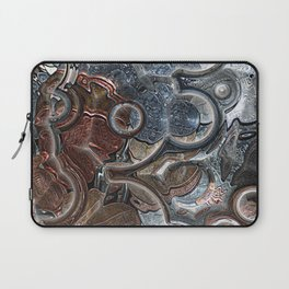 Abstract Coins Laptop Sleeve