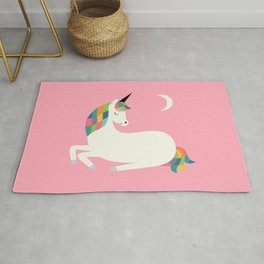 Unicorn Happiness Rug