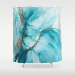 Fluidity V Shower Curtain