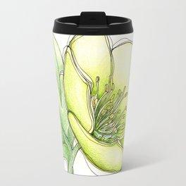 Green Hellebore Travel Mug