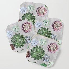 Simple succulents Coaster