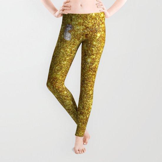 Golden Goddess Leggings