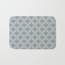 Vintage Art Deco Seashell - Sweet scent of lavender Bath Mat