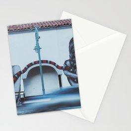 snake girl mural Stationery Cards