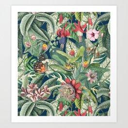 Tropical Paradise VII Art Print
