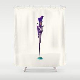 Steadfast Soldier Shower Curtain