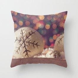 It's the Holiday Season Throw Pillow