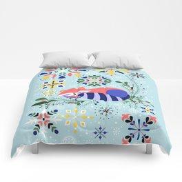 Happy Raccoon Card Comforters