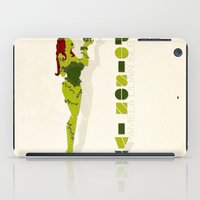 poison ivy iPad Cases featuring Poison Ivy by Lily's Factory