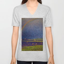After the Storm (A New Tomorrow) Unisex V-Neck