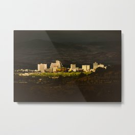Downtown Reno Skyline Metal Print