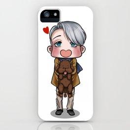 Viktor and Makkachin iPhone Case