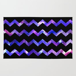 Chevron Galaxy Rug