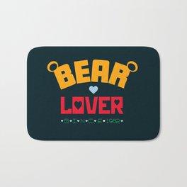 Bear Lover Bath Mat