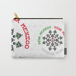 "ACHIOTE ""VIVA MEXICO"" Carry-All Pouch"