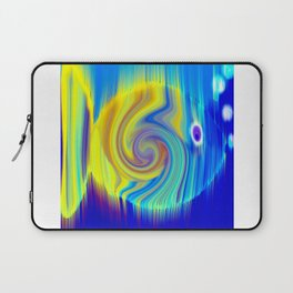 Colorful Abstract Fish Art Laptop Sleeve