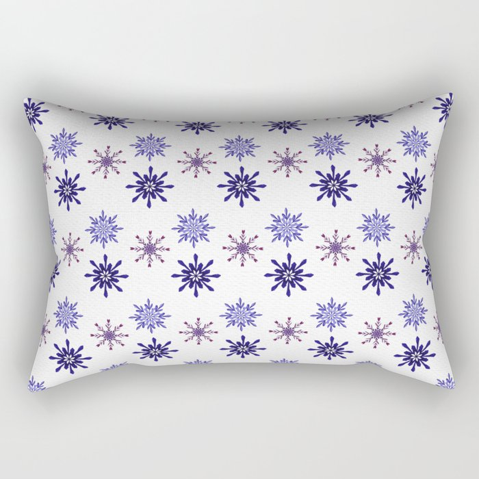 Snowing Rectangular Pillow