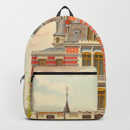 Brick constructions; ordinary brick from a decorative point of view - J. Lacroux and C. Détain - 187 Backpack