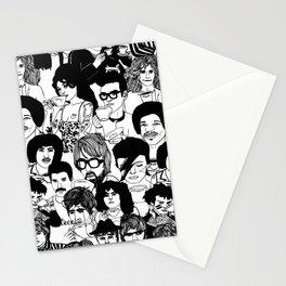 Under the Influence #2 pattern by Emilythepemily Stationery Cards