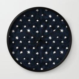 Midnight Starlet Wall Clock