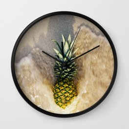 Pineapple Love Wall Clock
