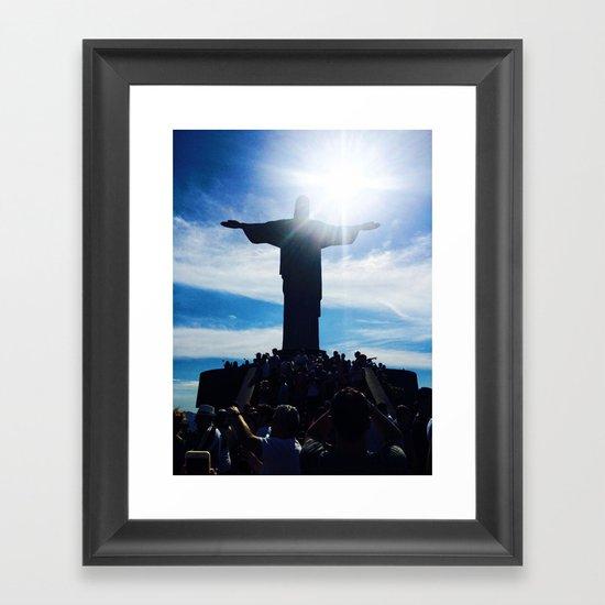 Christ the Redeemer Framed Art Print