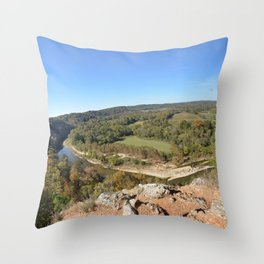 Sparrowhawk Mountain Series, No. 15 Throw Pillow